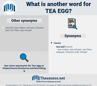 tea egg, synonym tea egg, another word for tea egg, words like tea egg, thesaurus tea egg