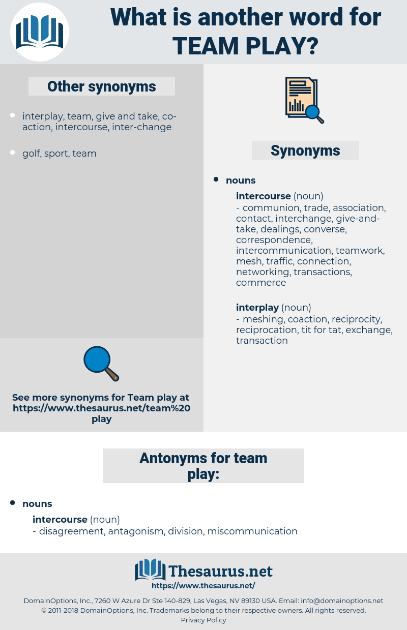 team play, synonym team play, another word for team play, words like team play, thesaurus team play