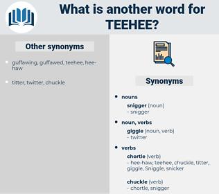teehee, synonym teehee, another word for teehee, words like teehee, thesaurus teehee