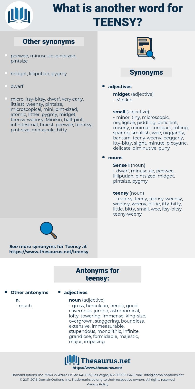 teensy, synonym teensy, another word for teensy, words like teensy, thesaurus teensy