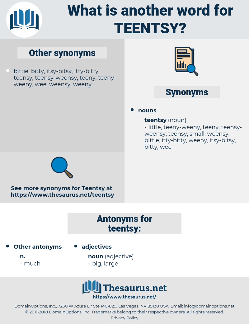 teentsy, synonym teentsy, another word for teentsy, words like teentsy, thesaurus teentsy