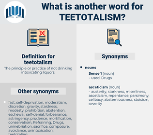 teetotalism, synonym teetotalism, another word for teetotalism, words like teetotalism, thesaurus teetotalism