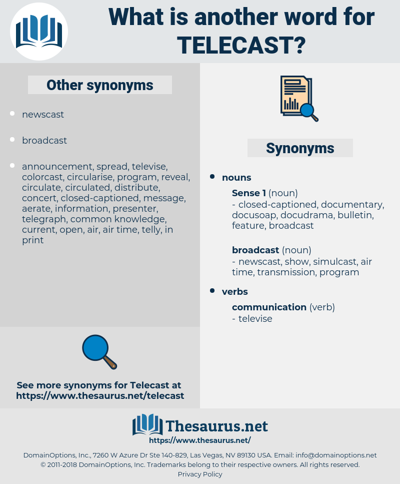 telecast, synonym telecast, another word for telecast, words like telecast, thesaurus telecast