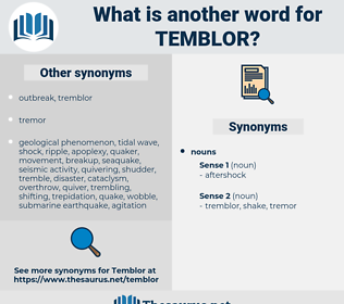 temblor, synonym temblor, another word for temblor, words like temblor, thesaurus temblor