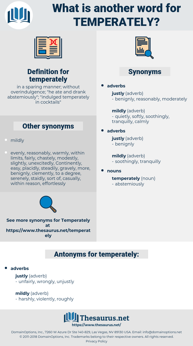 temperately, synonym temperately, another word for temperately, words like temperately, thesaurus temperately
