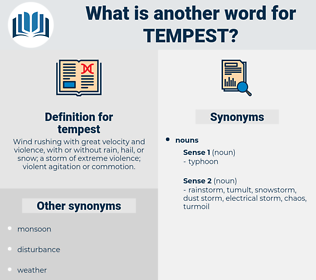 tempest, synonym tempest, another word for tempest, words like tempest, thesaurus tempest