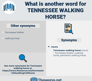 Tennessee Walking Horse, synonym Tennessee Walking Horse, another word for Tennessee Walking Horse, words like Tennessee Walking Horse, thesaurus Tennessee Walking Horse