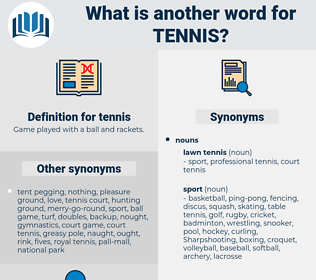 tennis, synonym tennis, another word for tennis, words like tennis, thesaurus tennis