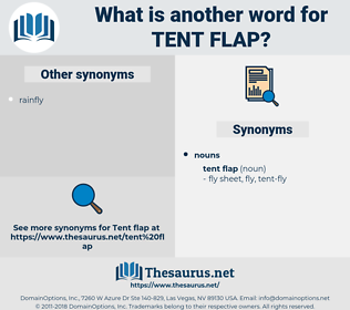 tent flap, synonym tent flap, another word for tent flap, words like tent flap, thesaurus tent flap