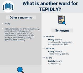 tepidly, synonym tepidly, another word for tepidly, words like tepidly, thesaurus tepidly