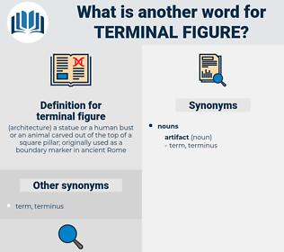 terminal figure, synonym terminal figure, another word for terminal figure, words like terminal figure, thesaurus terminal figure