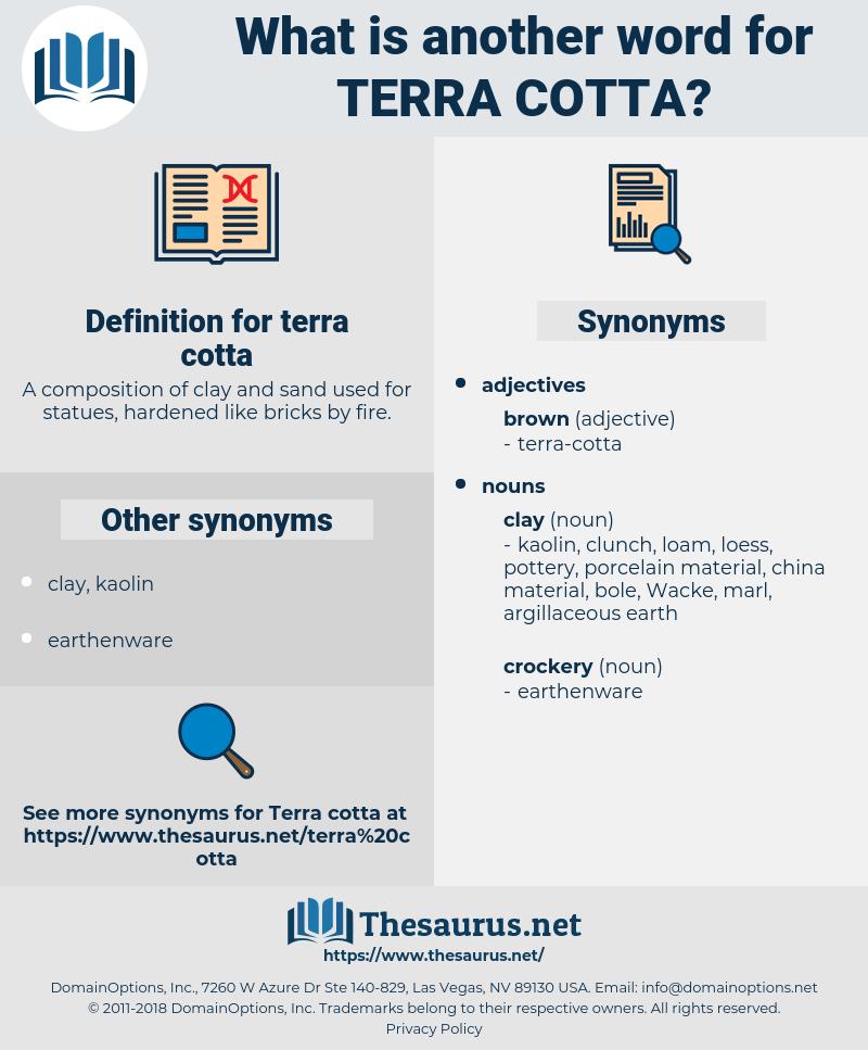 terra cotta, synonym terra cotta, another word for terra cotta, words like terra cotta, thesaurus terra cotta
