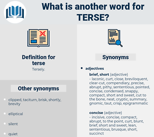 terse, synonym terse, another word for terse, words like terse, thesaurus terse