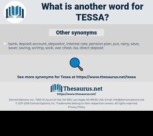 Tessa, synonym Tessa, another word for Tessa, words like Tessa, thesaurus Tessa