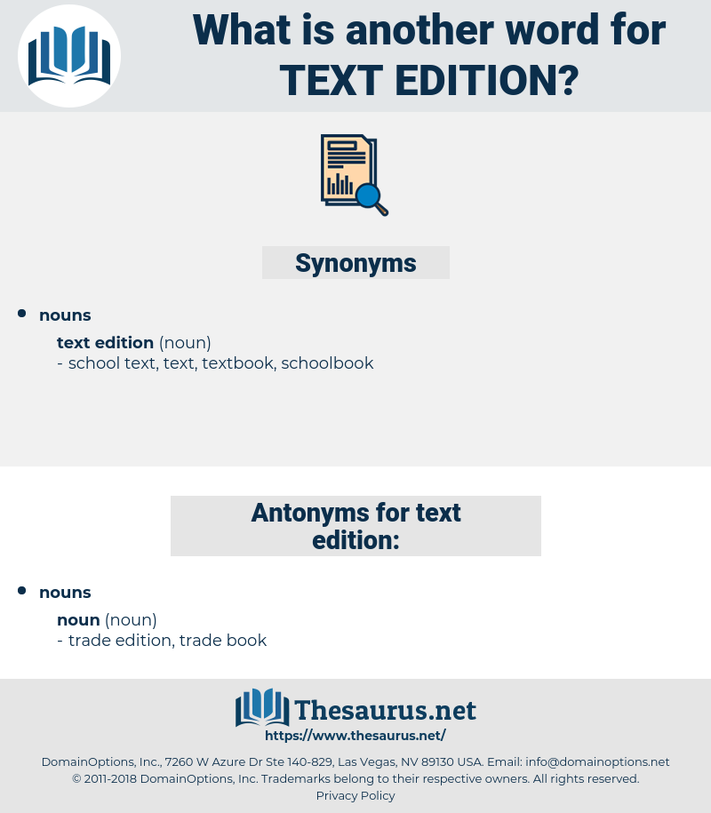 text edition, synonym text edition, another word for text edition, words like text edition, thesaurus text edition