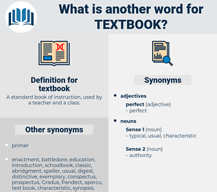 textbook, synonym textbook, another word for textbook, words like textbook, thesaurus textbook