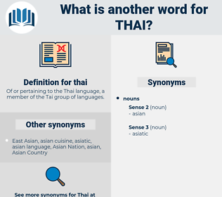 thai, synonym thai, another word for thai, words like thai, thesaurus thai
