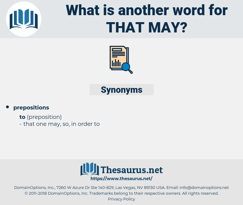 that may, synonym that may, another word for that may, words like that may, thesaurus that may