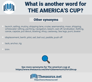 the America's Cup, synonym the America's Cup, another word for the America's Cup, words like the America's Cup, thesaurus the America's Cup