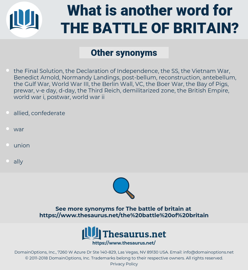 the Battle of Britain, synonym the Battle of Britain, another word for the Battle of Britain, words like the Battle of Britain, thesaurus the Battle of Britain