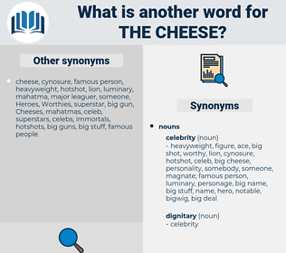 the cheese, synonym the cheese, another word for the cheese, words like the cheese, thesaurus the cheese