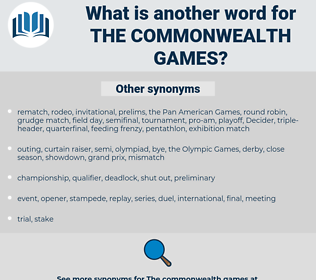 the Commonwealth Games, synonym the Commonwealth Games, another word for the Commonwealth Games, words like the Commonwealth Games, thesaurus the Commonwealth Games
