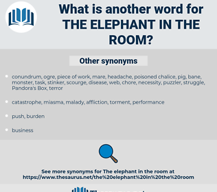 the elephant in the room, synonym the elephant in the room, another word for the elephant in the room, words like the elephant in the room, thesaurus the elephant in the room