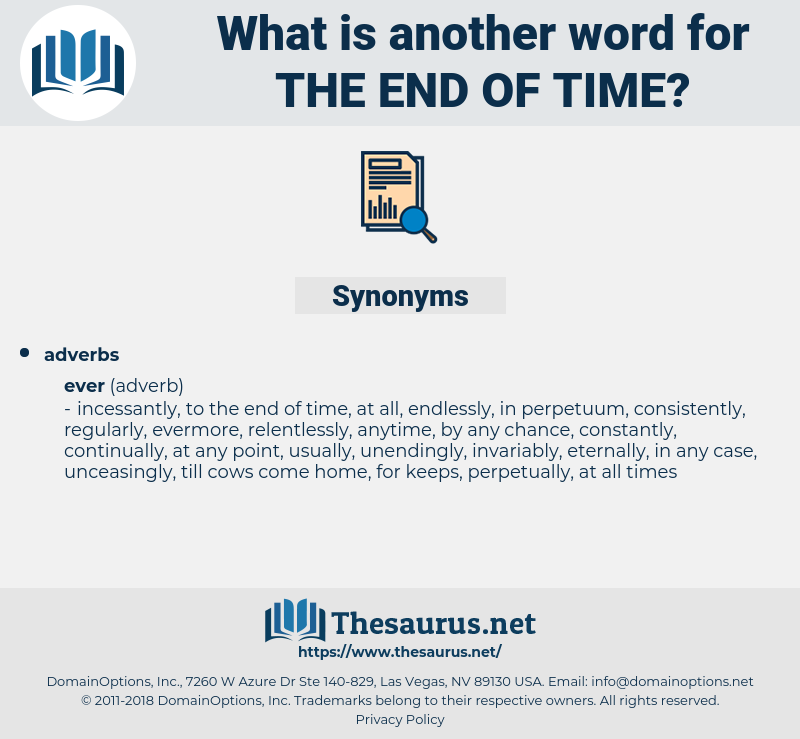 the end of time, synonym the end of time, another word for the end of time, words like the end of time, thesaurus the end of time