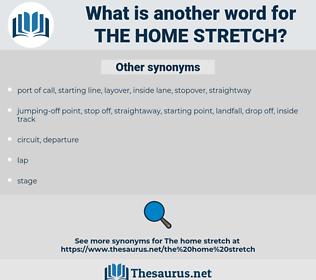 the home stretch, synonym the home stretch, another word for the home stretch, words like the home stretch, thesaurus the home stretch