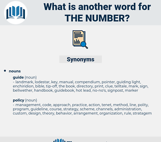 the number, synonym the number, another word for the number, words like the number, thesaurus the number