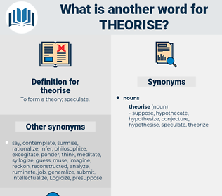 theorise, synonym theorise, another word for theorise, words like theorise, thesaurus theorise