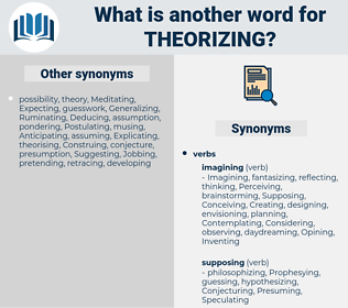 Theorizing, synonym Theorizing, another word for Theorizing, words like Theorizing, thesaurus Theorizing