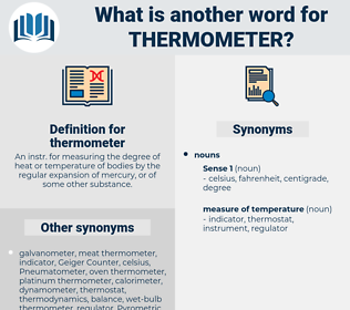 thermometer, synonym thermometer, another word for thermometer, words like thermometer, thesaurus thermometer