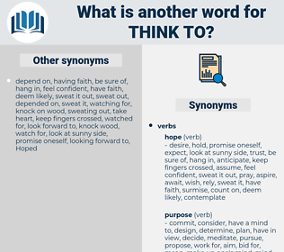 think to, synonym think to, another word for think to, words like think to, thesaurus think to