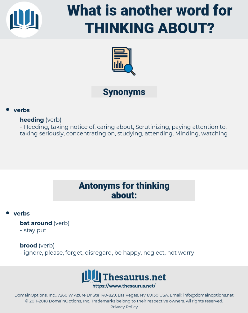 thinking about, synonym thinking about, another word for thinking about, words like thinking about, thesaurus thinking about