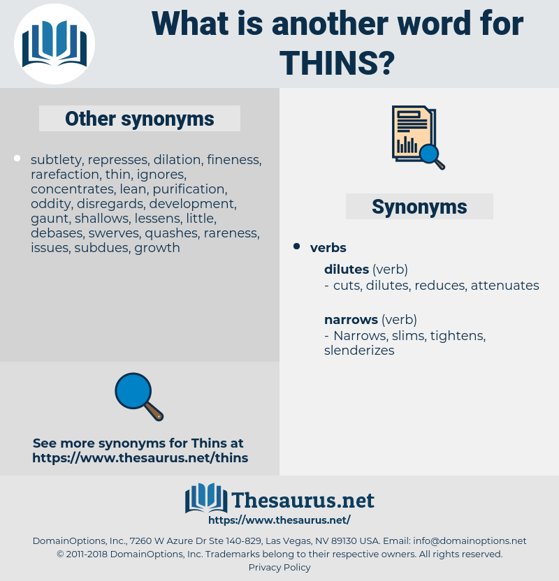 thins, synonym thins, another word for thins, words like thins, thesaurus thins