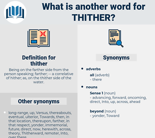 thither, synonym thither, another word for thither, words like thither, thesaurus thither