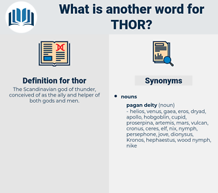 thor, synonym thor, another word for thor, words like thor, thesaurus thor