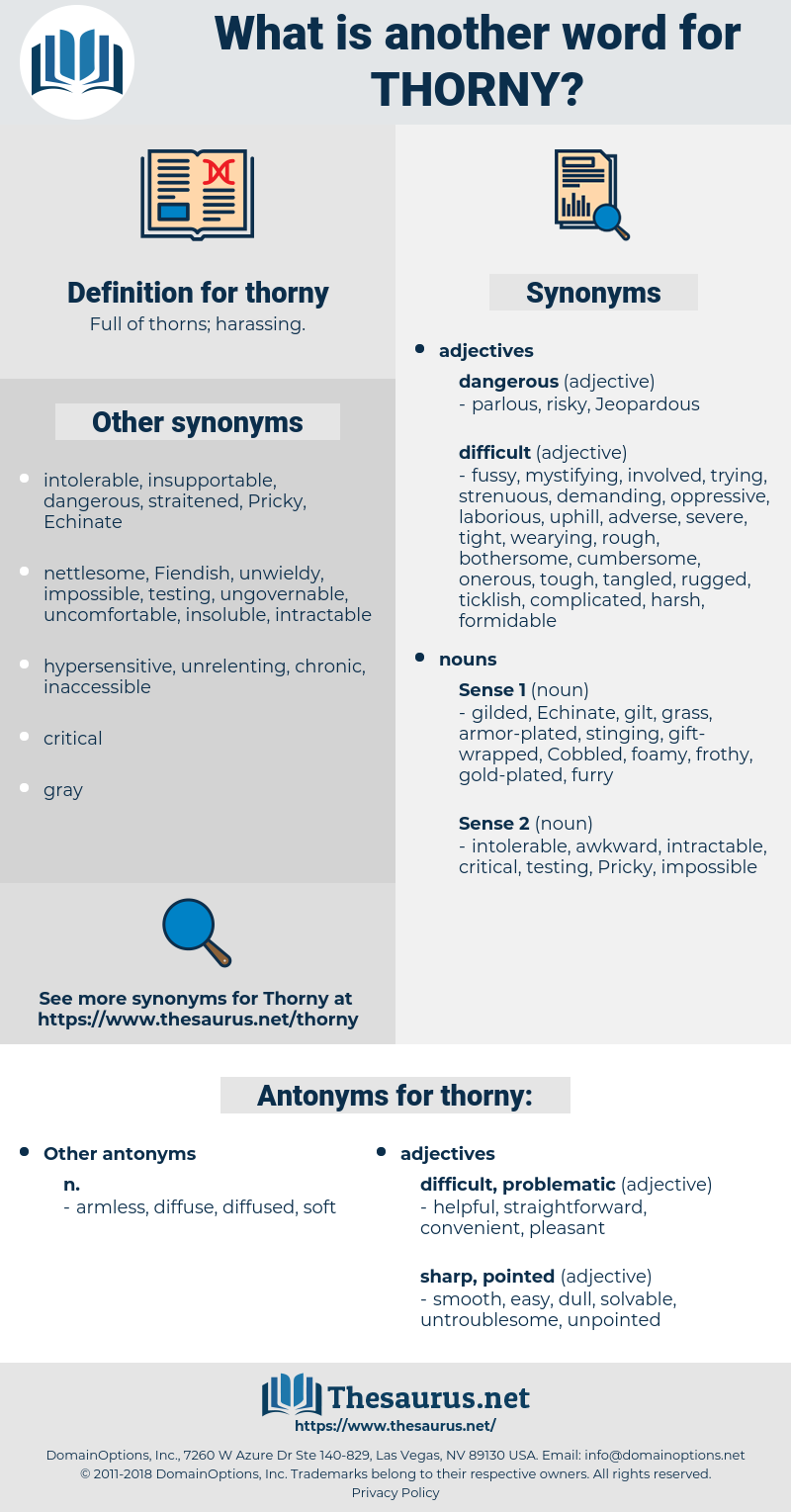 thorny, synonym thorny, another word for thorny, words like thorny, thesaurus thorny
