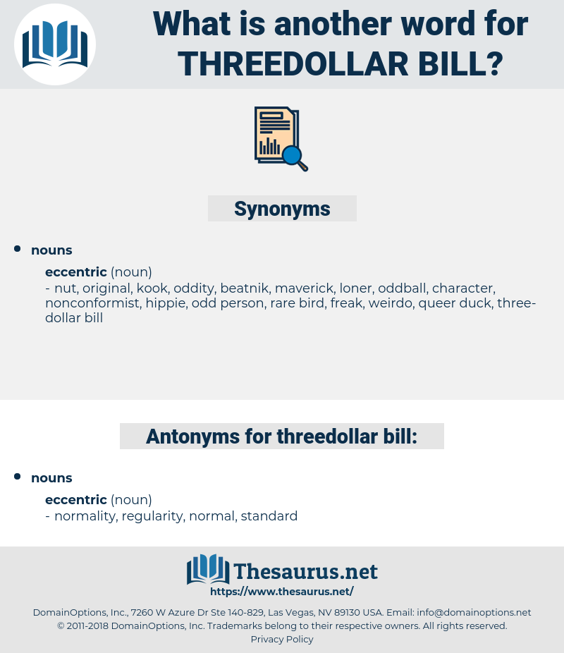 threedollar bill, synonym threedollar bill, another word for threedollar bill, words like threedollar bill, thesaurus threedollar bill