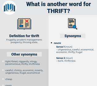 thrift, synonym thrift, another word for thrift, words like thrift, thesaurus thrift