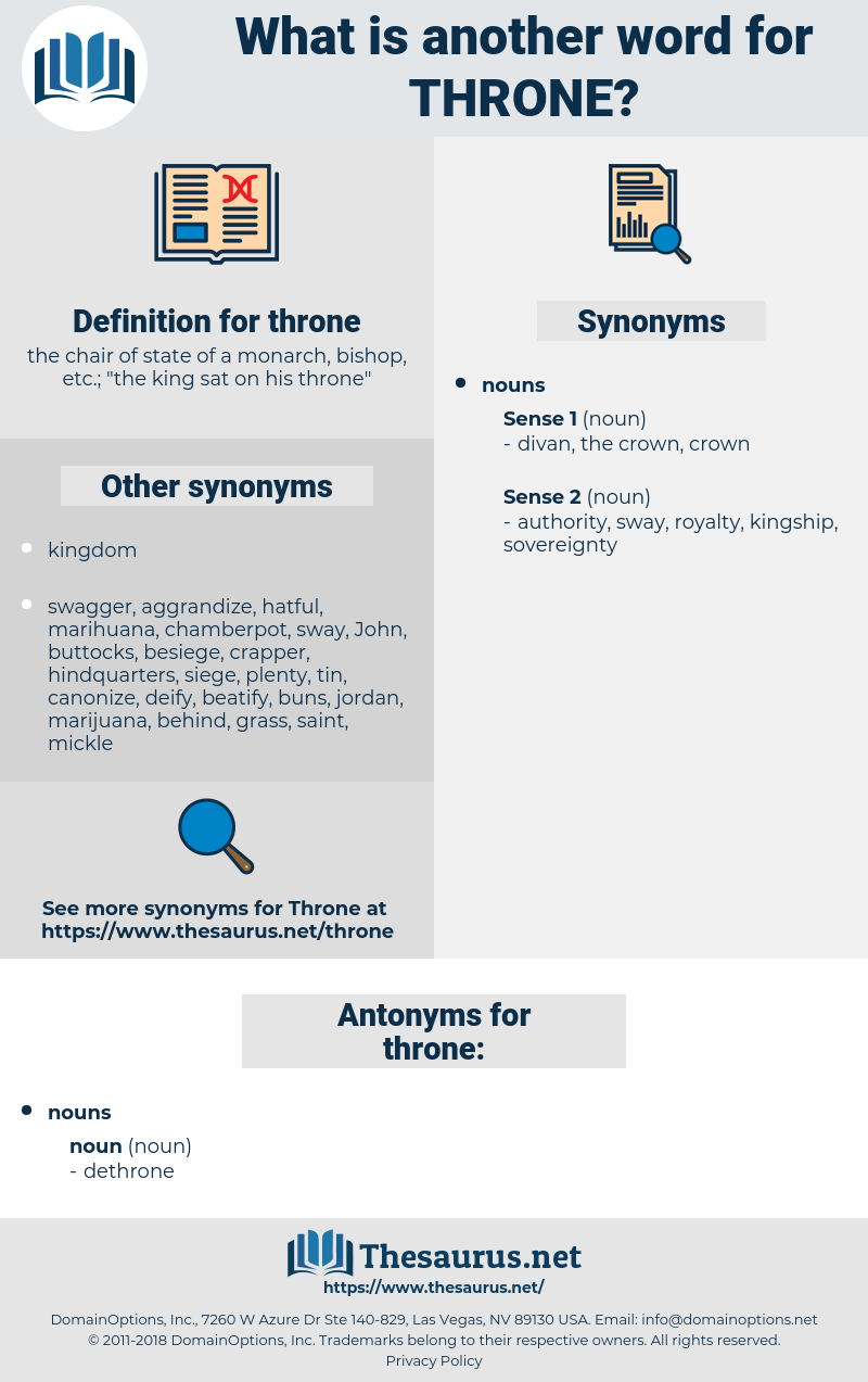 throne, synonym throne, another word for throne, words like throne, thesaurus throne