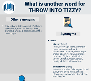 throw into tizzy, synonym throw into tizzy, another word for throw into tizzy, words like throw into tizzy, thesaurus throw into tizzy