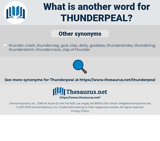 thunderpeal, synonym thunderpeal, another word for thunderpeal, words like thunderpeal, thesaurus thunderpeal