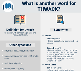 thwack, synonym thwack, another word for thwack, words like thwack, thesaurus thwack