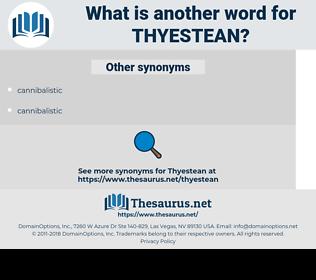 Thyestean, synonym Thyestean, another word for Thyestean, words like Thyestean, thesaurus Thyestean