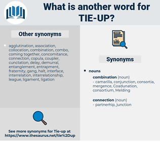 tie up, synonym tie up, another word for tie up, words like tie up, thesaurus tie up