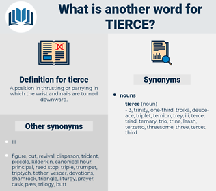 tierce, synonym tierce, another word for tierce, words like tierce, thesaurus tierce