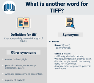 tiff, synonym tiff, another word for tiff, words like tiff, thesaurus tiff