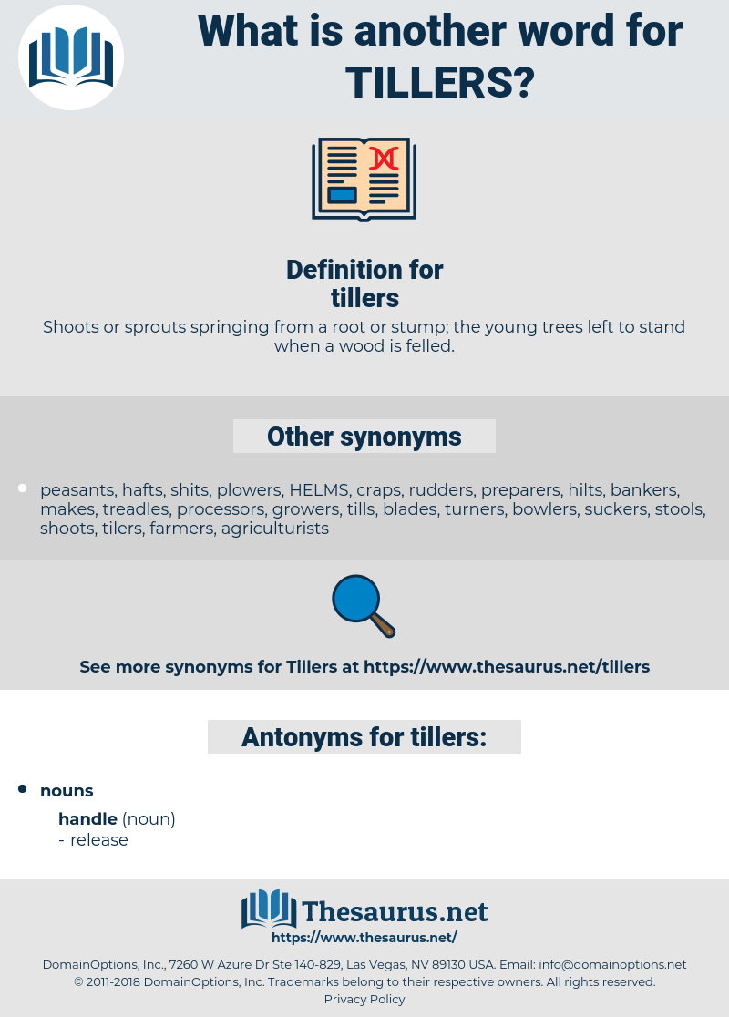 tillers, synonym tillers, another word for tillers, words like tillers, thesaurus tillers